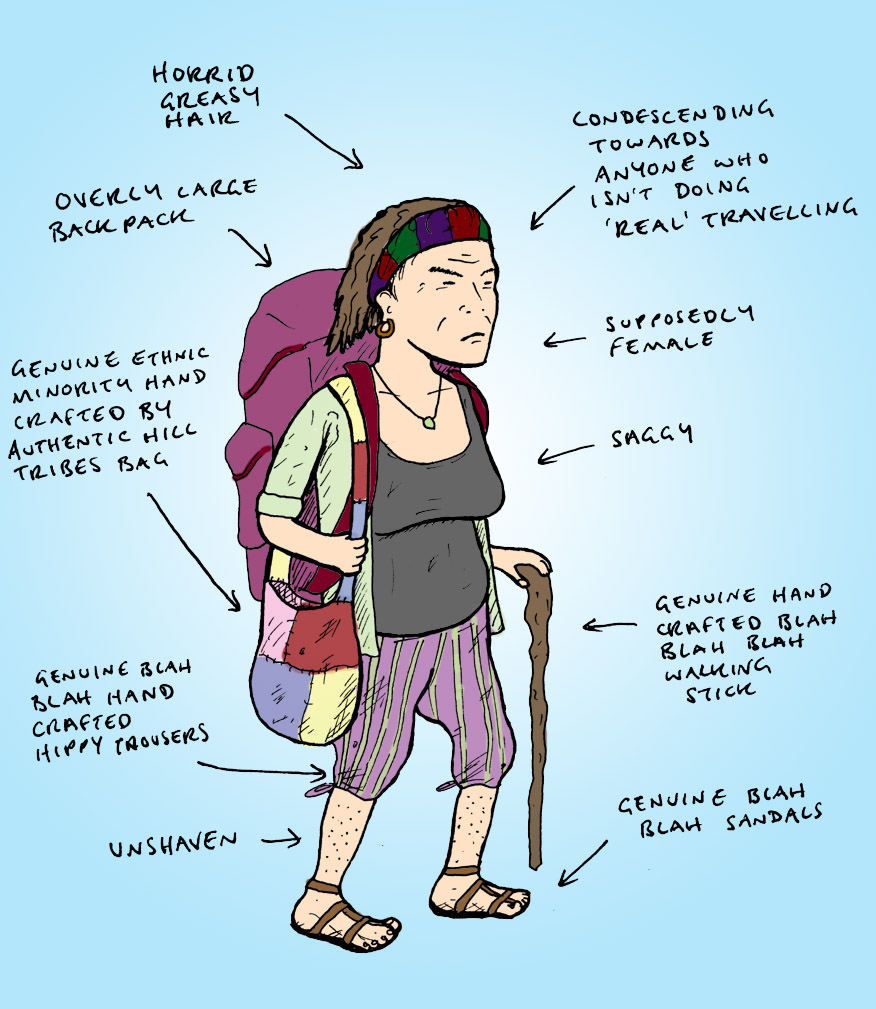 Backpacker atau Flashpacker