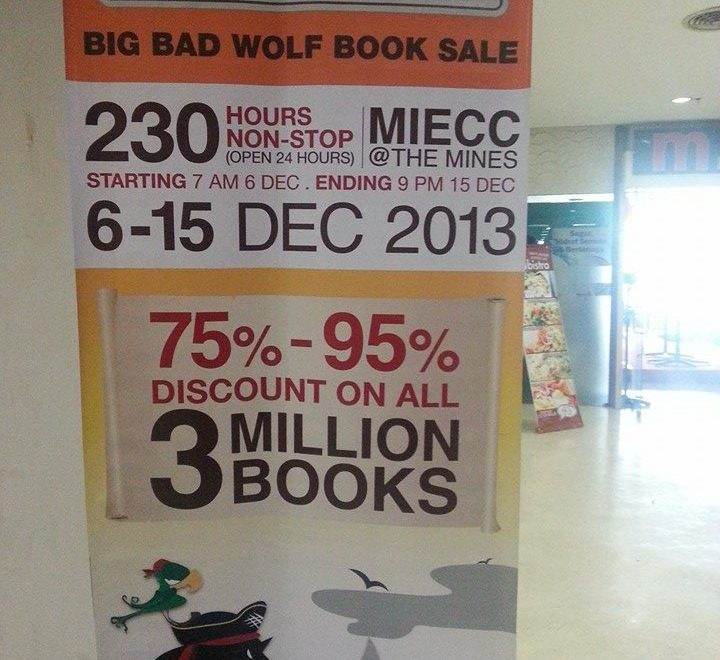 Big Bad Wolf Book Sales