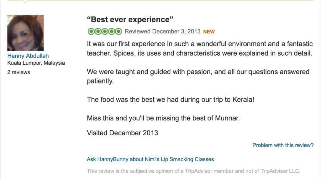 Buat Review Di Trip Advisor