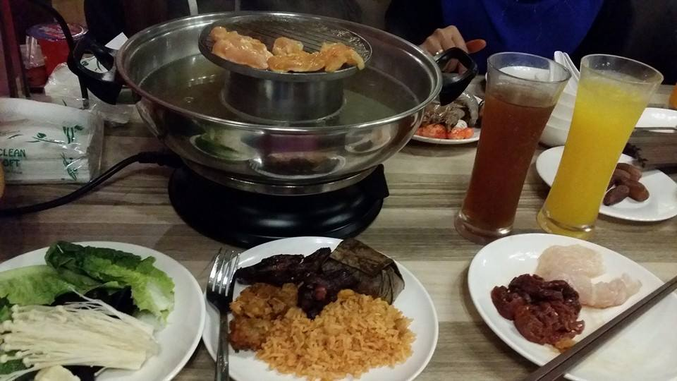 Food Review Pak John Steamboat BBQ
