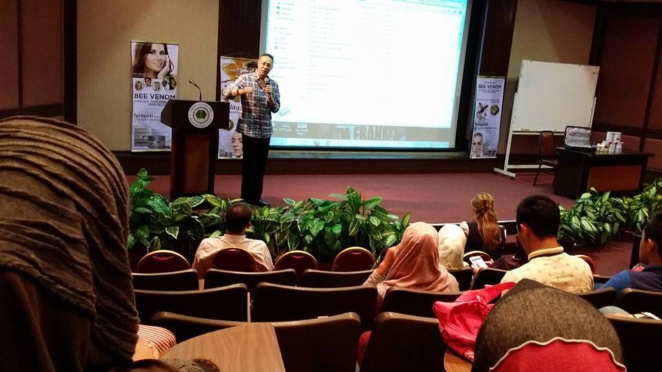 Product knowledge, Product Training Bee Venom Di Wisma Getah