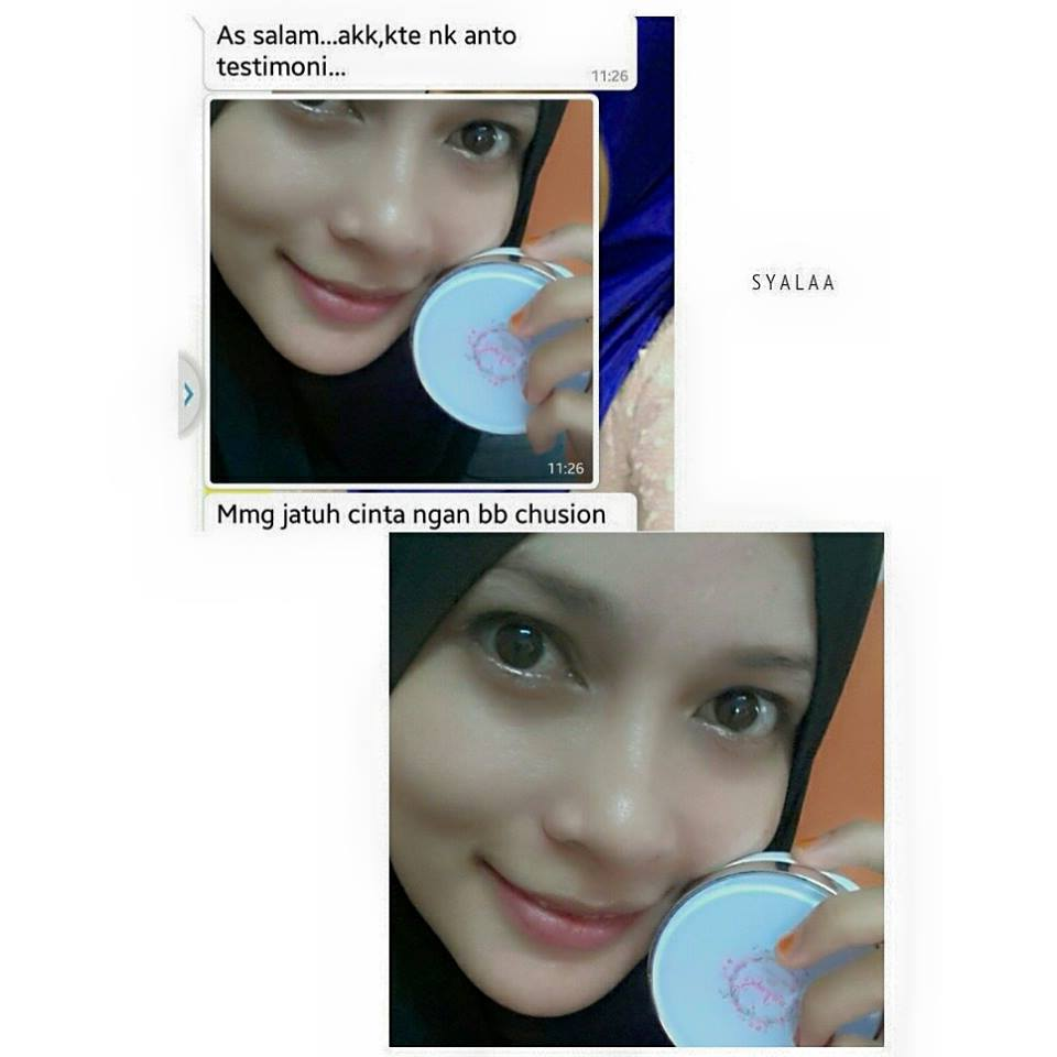 Testimoni SyaLaa BB Cream, SyaLaa BB Cushion