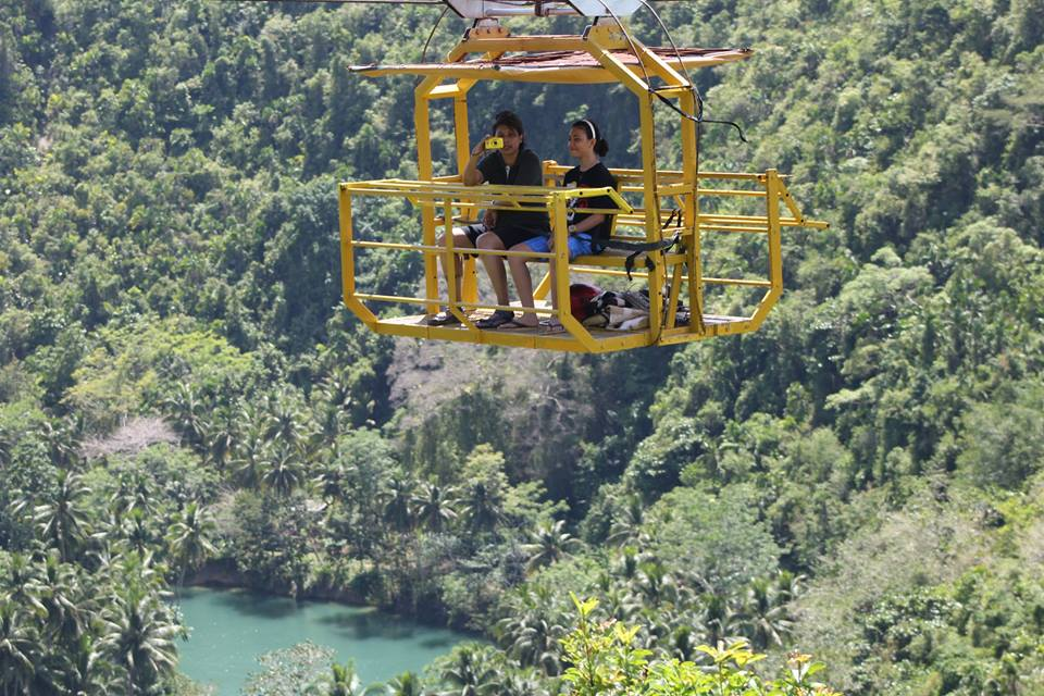 Zip-Line At Loboc Eco Adventure Park, Cable Car Di Loboc Adventure Park, Percutian Di Bohol