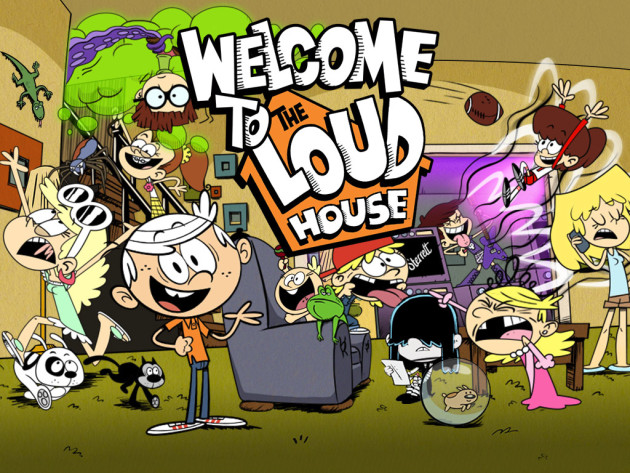 Siri Animasi komedi Terbaru Nickelodeon – The Loud House