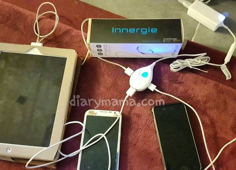Innergie LifeHub Plus, TRAVELERS POWER PACK DARI INNERGIE