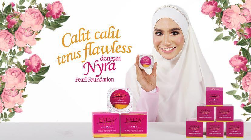Nyra Skinworks Pearl Foundation - Membuat Wajah Flawless Dan Glowing