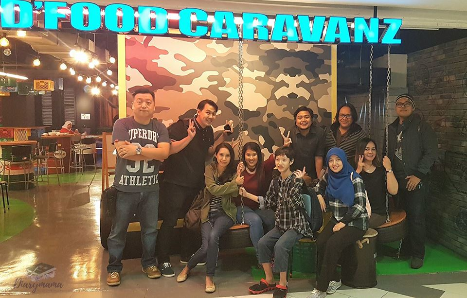 FoodZania, Epic Circle, Sungai Wang, Food Caravanz, Food Truck, Food Cart