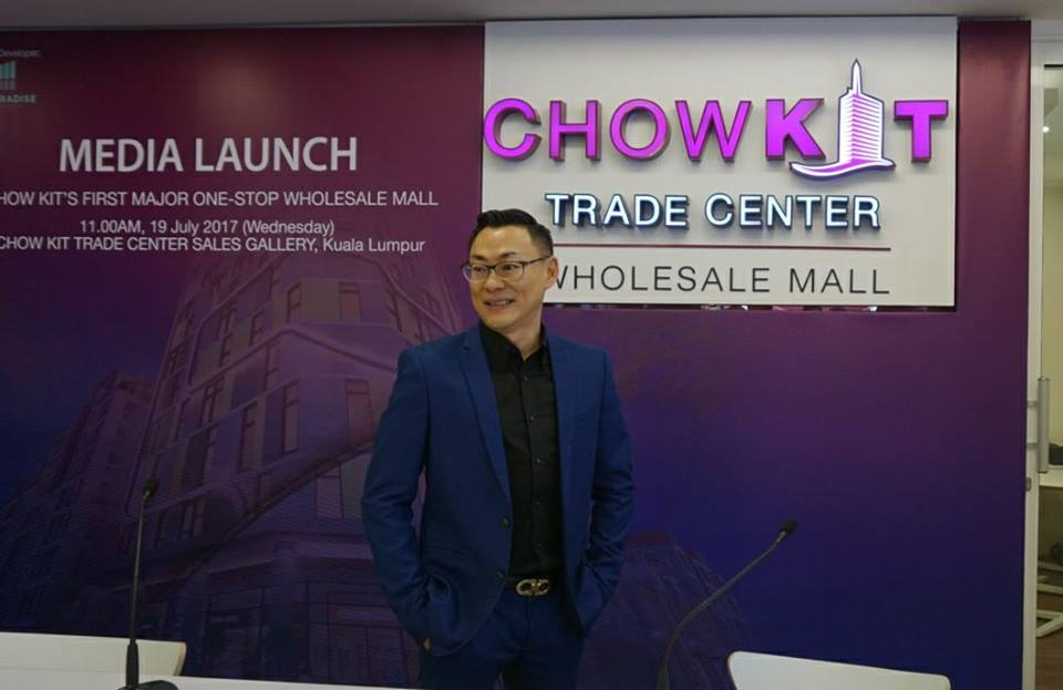 Chow Kit, Chow Kit Trade Centre (CKTC), Mercu Tanda Baru Berprestij Di Chow Kit,   Wholesale Mall, Visoon Group, Dato' Michael Lim,  Founder of VINSOON Group, Pusat Peruncitan Dan Pemborongan, Perasmian Chow Kit Trade Centre, CKTC