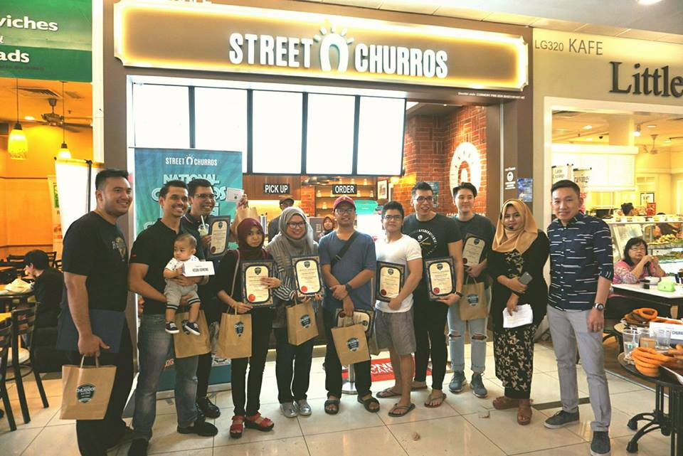 National Churros Eating Championship 2017