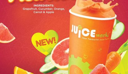 Juice Works, Heartbeat, Antioksidan, Manfaat Antioksidan, Fave, Diskaun Dari Fave, Promo Heartbeat, Juice Works One Utama