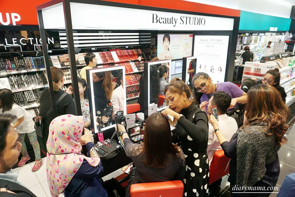Resorts World Genting, SkyAvenue, Influencers, Makeup Workshop, Sephora, Esprit, Thomas Sabo, Bengkel, Tatahias Diri, Fesyen, Fashion And Styling, Workshop, Fashion Workshop