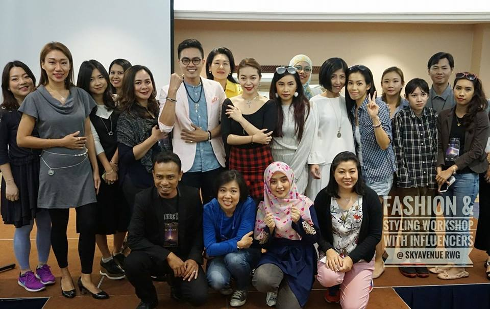 Fashion And Styling Workshop With Influencers @ SkyAvenue, Resorts World Genting