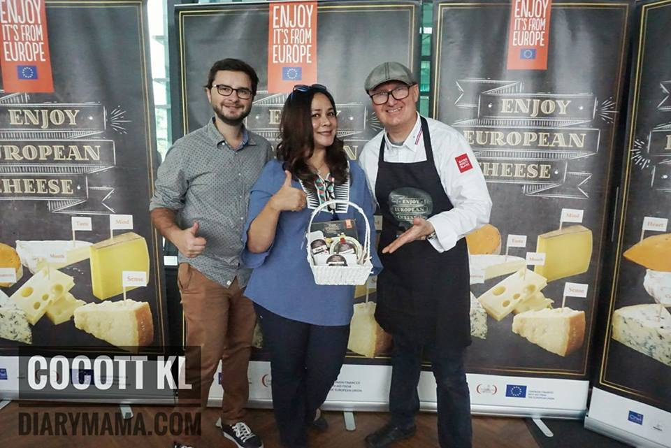 "Cocott KL, Cocott Taman Tun Dr Ismail, Parti Raclette, Raclette Fete, Raikan Keenakkan Keju Eropah ""Raclette Fete"", Keju Eropah Sedap, Cheese Sedap Di Cocott KL, Keju Eropah Raclette Fete, cheeses of europe, european cheese, cheese, chef pierre gay"