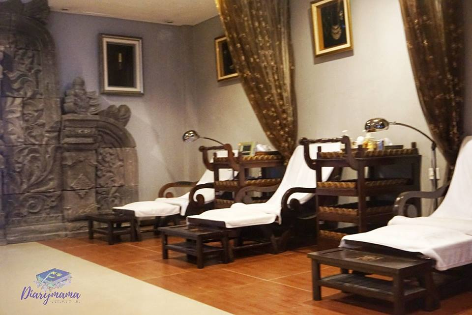 Influencers FAM Trip Resorts World Langkawi - taman sari royal heritage spa