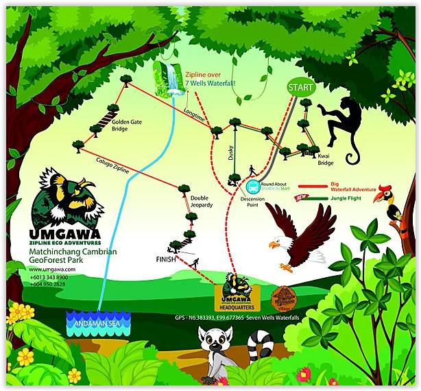Umgawa Zipline Eco Adventure, Zipline, Zipline Langkawi, Big Waterfall Adventure, Umgawa, Langkawi, Jungle Flight, Umgawa Langkawi, Umgawa Sky Rangers Guides, Umgawa Legendary Adventure