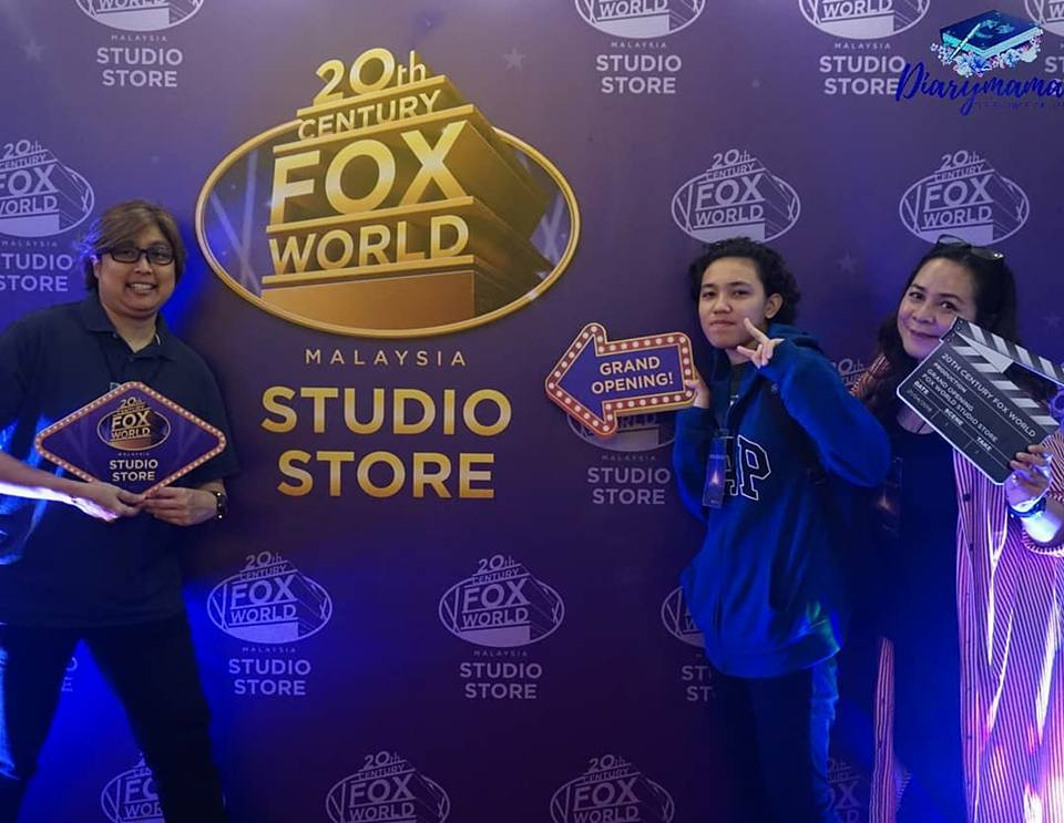 20th Century Fox World Studio Store, Resorts World Genting, 20th Century Fox World Theme Park, Genting Highland, filem Century Fox, 20th Century Fox World malaysia, Studio Store, Sky Avenue