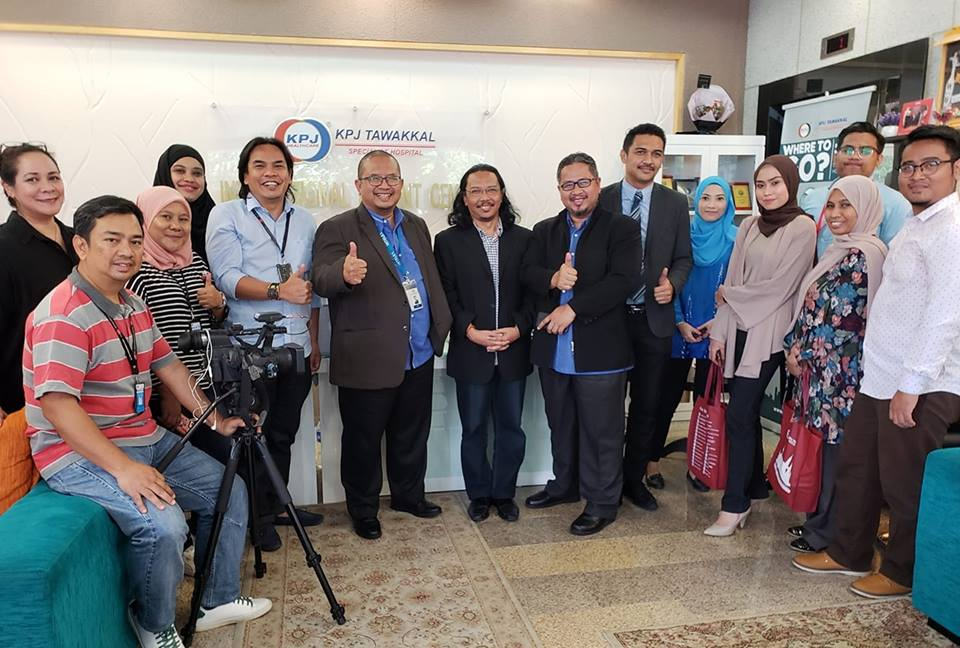 #TawakkalKanAda, Hospital Pakar KPJ Tawakkal, International Patient Centre (IPC), Jalan Pahang Barat, KPJ Healthcare Berhad, Majlis Pre Pelancaran, Perkenalkan penjenamaan #TawakkalKanAda, Tagline #TawakkalKanAda, Hospital Tawakkal