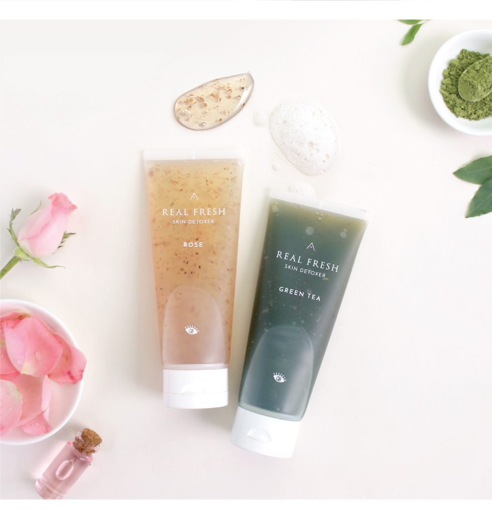 Althea Korea, Althea Real Fresh Skin Detoxer, produk penjagaan kulit wajah, Real Fresh Skin Detoxer, Get It Beauty, Althea, Rose (skin refining), Green Tea (skin purifying)